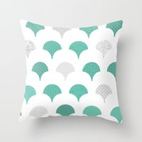 tokyo Throw Pillows featuring Tokyo by Siphong