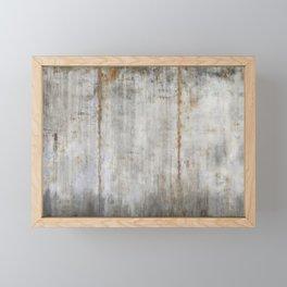 Concrete Wall Framed Mini Art Print