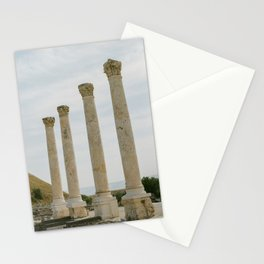 Pillars of Beit She'an / Holy Land Fine Art Film Photography Stationery Cards