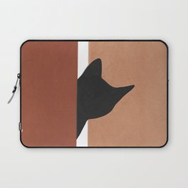 Peeking In Laptop Sleeve