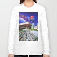 interstellar Long Sleeve T-shirts featuring Interstellar Interstate by John Turck