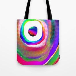 Space Rainbow Tote Bag