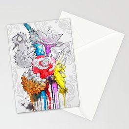 birth of a color Stationery Cards