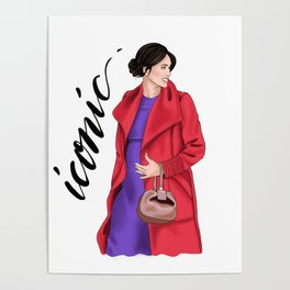 Iconic by Silvana Arias Poster