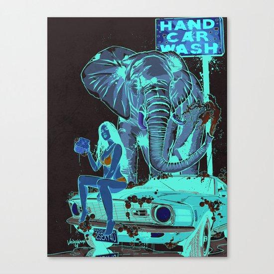 Car Wash Canvas Print