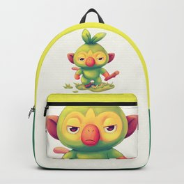 He Also Attacc // Cute Grookey, Grass Starter, RPG Backpack