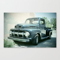 ford Canvas Prints featuring Ford by Photofrazzle