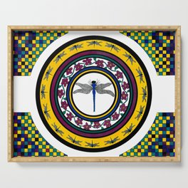 Circle of Life 3 / Dragonfly Serving Tray