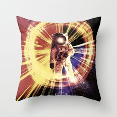 Too Much Space Out There. Throw Pillow