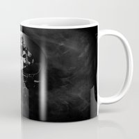 punisher Mugs featuring The Punisher by dTydlacka