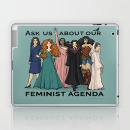 Feminist Agenda Laptop & iPad Skin