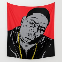 The Biggie Poster Wall Tapestry
