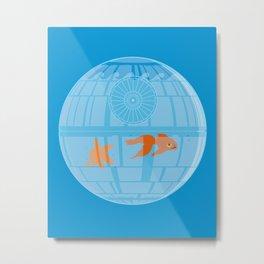 Empire Fish Bowl Metal Print