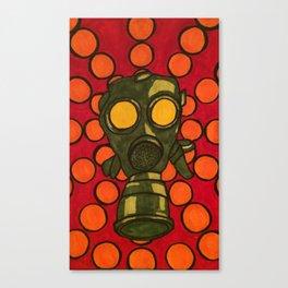 Gas Mask 002 Canvas Print
