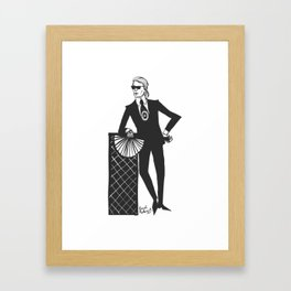 Karl Framed Art Print