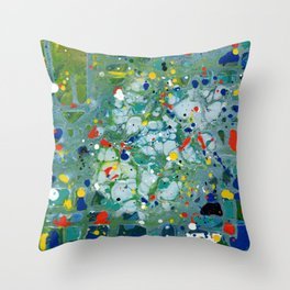 The Noise Inside Throw Pillow