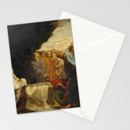 "Théodore Géricault ""La Résurrection de Lazare"" Stationery Cards"