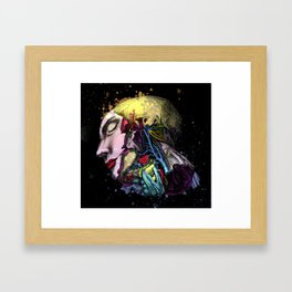 Diderot tribute Framed Art Print