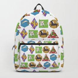 Geometric Unicorns Backpack
