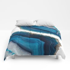 Blue Agate Comforters