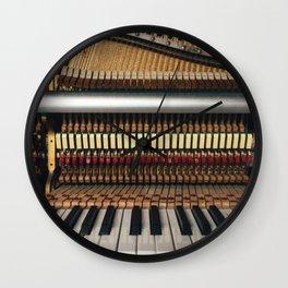 Piano inside Wall Clock