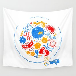 Primary soup Wall Tapestry
