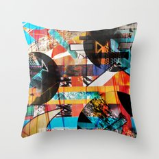 Lights and Sounds Throw Pillow
