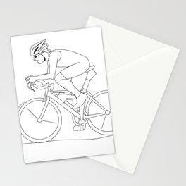 Bike race triathlon Stationery Cards