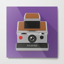 Polaroid Sx-70 Metal Print