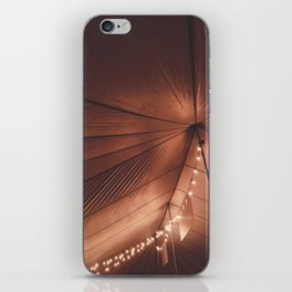 TENT LIGHTS iPhone Skin