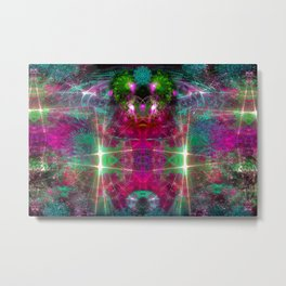 Extraterrestrial Palace 6 Metal Print