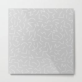 IZZY ((calm gray)) Metal Print
