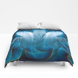 Color Meditation - Blue  Comforters