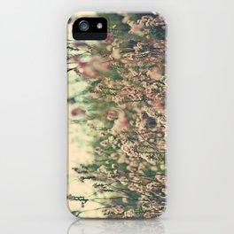 Retro Spring Wildflowers iPhone Case