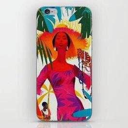 Vintage Caribbean Travel - Cuba iPhone Skin