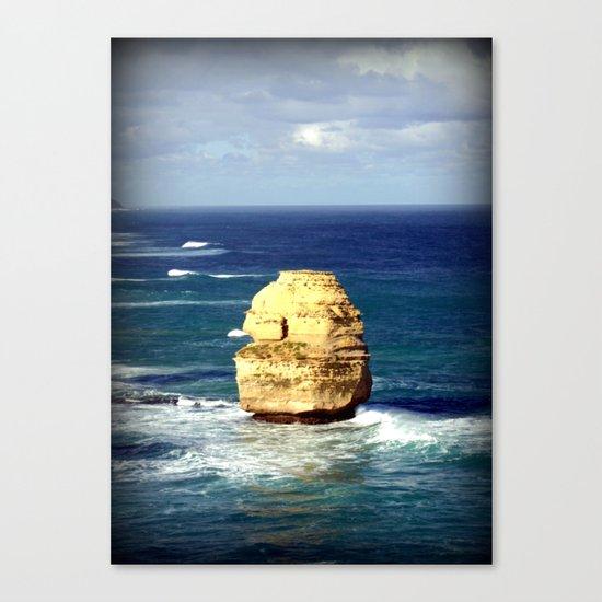 Limestone Rock Canvas Print