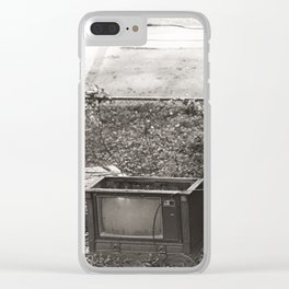 Television Clear iPhone Case