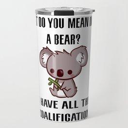 Kowala Bear Travel Mug