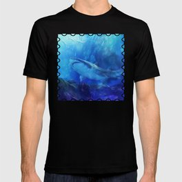 Make Way for the Great White Shark King  T-shirt