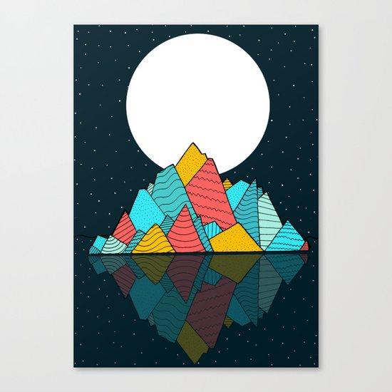 The lost Island Canvas Print