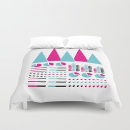 Infographic Selection Duvet Cover