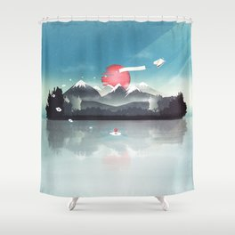 Fortuna's Message Shower Curtain