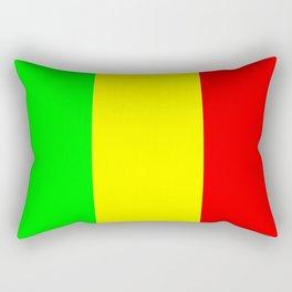Flag of mali 2 -mali,malien,malienne,malian,bamako,tombouctou,timbuktu,sikasso,mopti,mande Rectangular Pillow