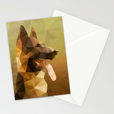The German Shepherd Stationery Cards