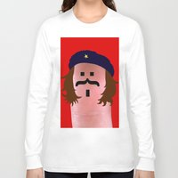 che Long Sleeve T-shirts featuring che by Panic Junkie