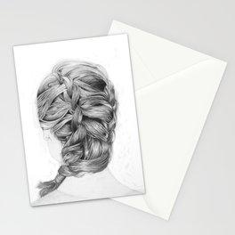 French Braid Stationery Cards
