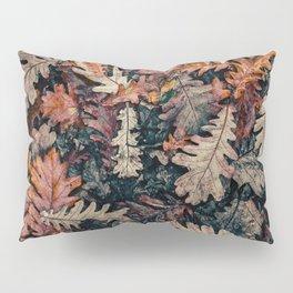 Autumn Leafs Pattern (Color) Pillow Sham