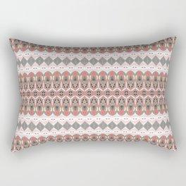 Micro Pattern Neo Tribal Beauty Rectangular Pillow