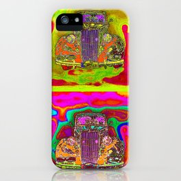 CRAZY NUT OLD CARS iPhone Case