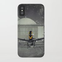 mustang iPhone & iPod Cases featuring Mustang by Jorgenson Art Syndicate